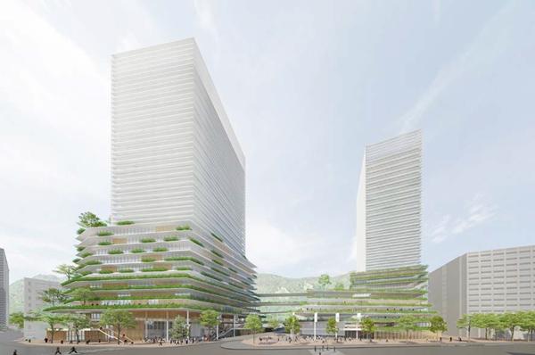2025年~2030年完成】兵庫県 県庁舎等再整備【JR元町駅周辺再開発 ...
