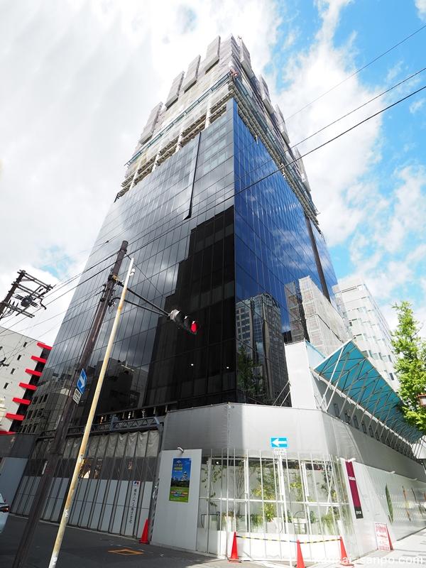 W Osaka(Wホテル大阪)2021年3月16日開業 大阪・心斎橋【337室・27階・高さ約117m】