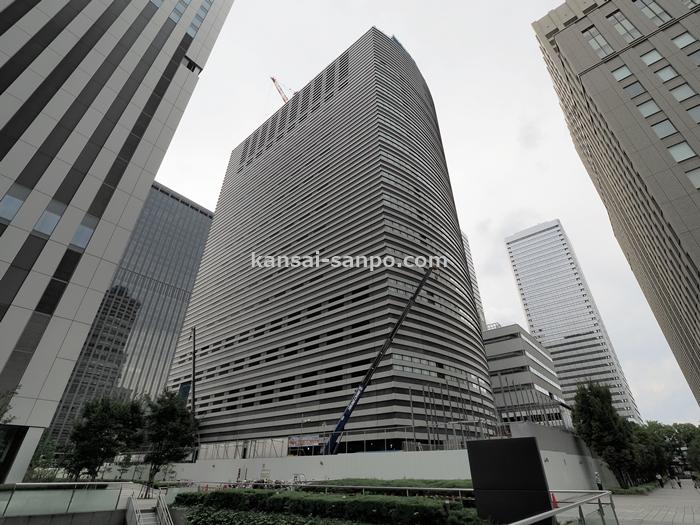 2021年4月竣工】京阪神ビルディング (仮称)京阪神OBPビル【高さ118m ...